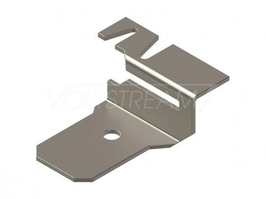 Держатель для полосы 25х4, 40х4, оцинкованная сталь