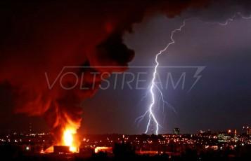 Молниезащита резервуаров и конструкций, содержащих взрыво- и пожароопасные вещества