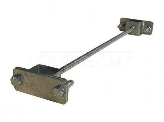 Проходная точка заземления 300 мм (оцинкованная сталь)