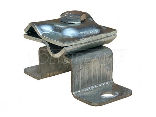 Соединитель прутка опорный (H=25 мм), оцинкованная сталь